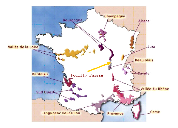 pouilly-fuisse-map